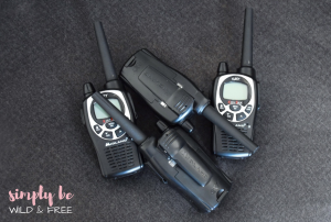 Our Walkie Talkies for the Kiddos