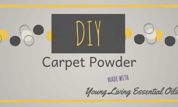 Young Living | DIY Carpet Powder