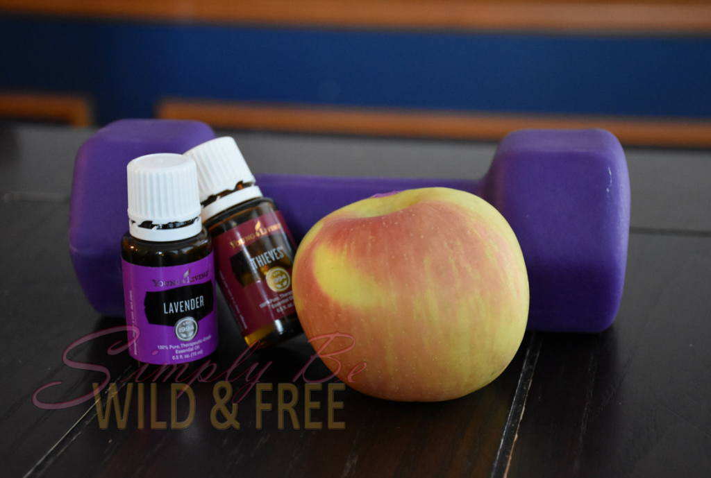Essential Oils Exercise and Fruit