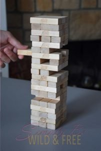 If you have got the Nerves for it Play some Jenga