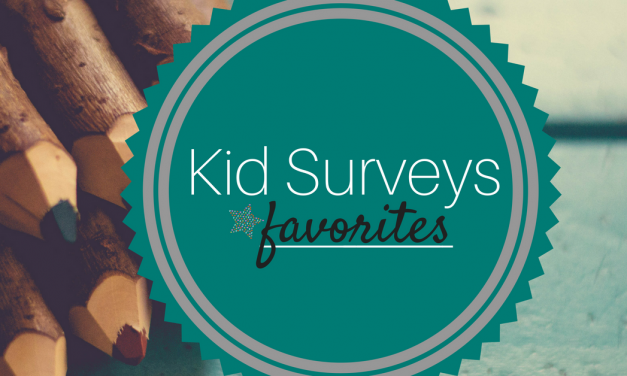 Kid Surveys | Favorites
