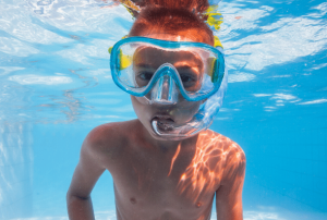 Simple Swim Goggles for Kids