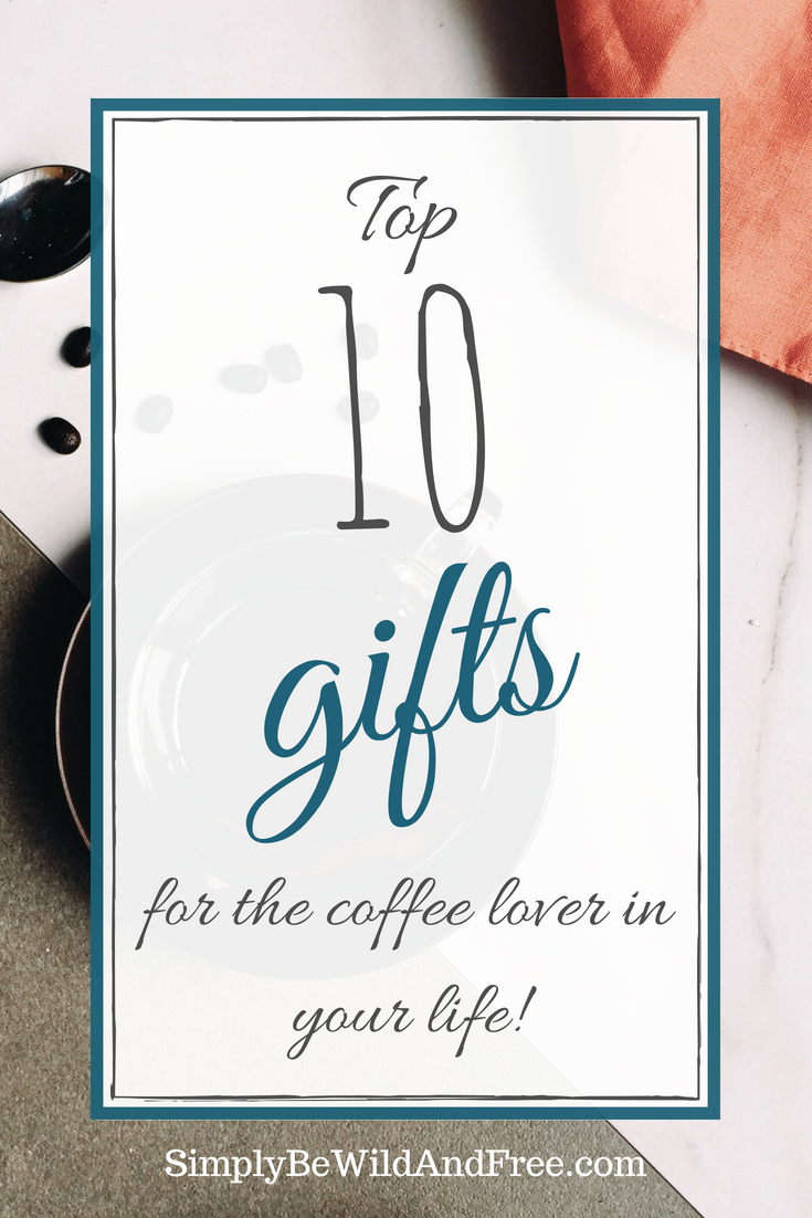 Coffee! Yum! Check out these top 10 gifts for the coffee lover! From coffee mugs to flavored treats, every coffee lover will thoroughly enjoy these gifts! Gift ideas for him, her, teachers, coworkers, friends, family, and more! Greater a cute personalized coffee gift basket. #coffee #gifts #mom #dad #mugs #shopping