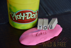 Use Play-Doh to Practice Spelling