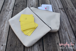Using Pouches for Homeschool Storage