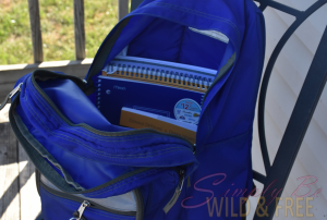 Back your bag with Curriculum to homeschool on the go