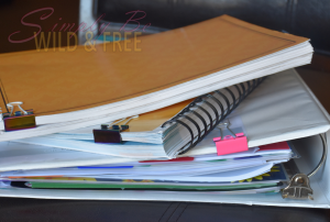 Using Binder Clips on Curriculum is an essential kid hack and helps to easily keep your place