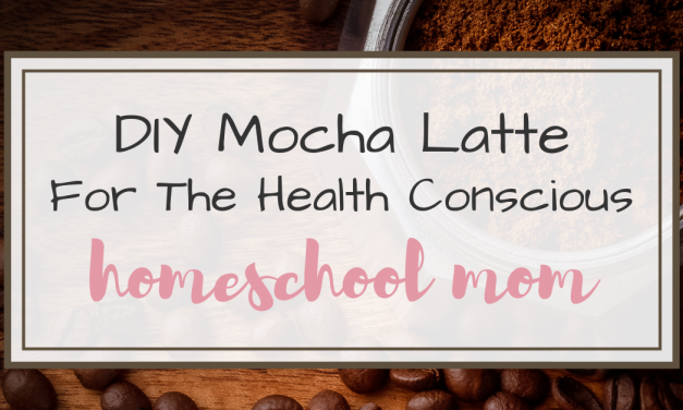 DIY Mocha Latte for the Health Conscious Mom