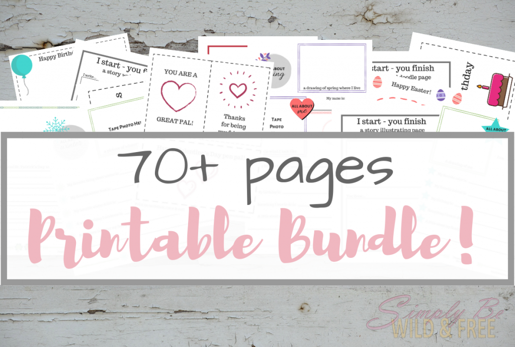 70+ Pages Printable Bundle!