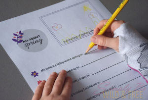 Easy Printable Sheets for Kindergarteners to fill out for their Pen Pal