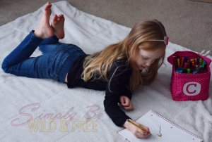 Family History time can be fun for younger homeschool children too
