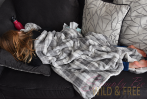 Homeschoolers sometimes have sick days too - flexible schedule is a must