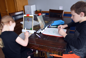 OSMO Creative Kit is a great Homeschool Looping Activity
