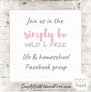 SBWF homeschool Facebook Group Invite