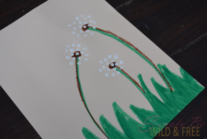 Finished Dandelion Dust Summer Craft