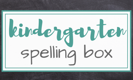 The Kindergarten Spelling Box