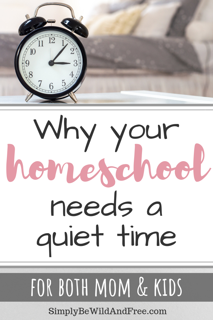 Learn how to create the perfect quiet time for your toddler or preschooler! This time of rest is an essential moment to creating an incredibly smooth homeschool day! A great quiet time also makes a great addition to your kindergarten routine. Get the best tips and tricks for skipping the battle and having your child settle down for a time of rest. #quiet #kids #activities #play #homeschool #preschool #kindergarten #read #mom #stress #blessed #catchup #relax #destress