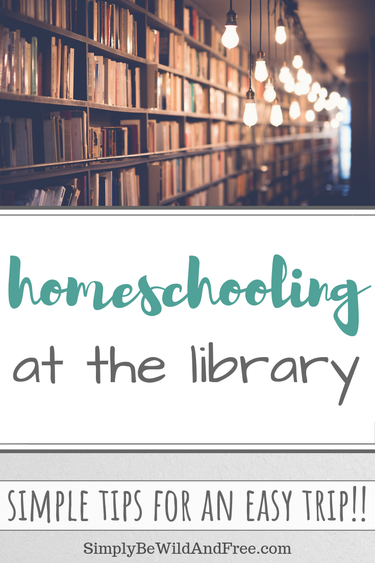 Get all the best tips on how to homeschool your children outside of the home! Kids love adventure and learning in fun new places. Learn why kids enjoy doing school at the library, as well as what to look for when you are planning your own library trip! These simple organization hacks and schedule ideas will aide you along the way. Check out how fun it can be to homeschool at the library. #homeschool #library #fieldtrips #kids #homeschooling #plan #trip #learn