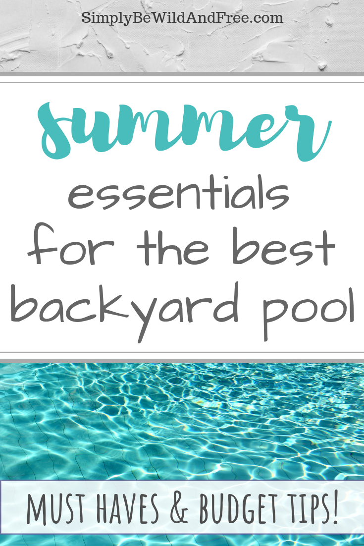 Everything you need for your family pool!! Learn how to create your very own backyard oasis. Easy to set up pool, backyard storage, and budget friendly ideas are all essential to creating the perfect swim area of your children! Find out the best time to shop and get tips and tricks on what really works. Pool ideas, products, must haves and more! This can be a budget friendly project! #Summer #Pool #backyard #activities #deals #budget