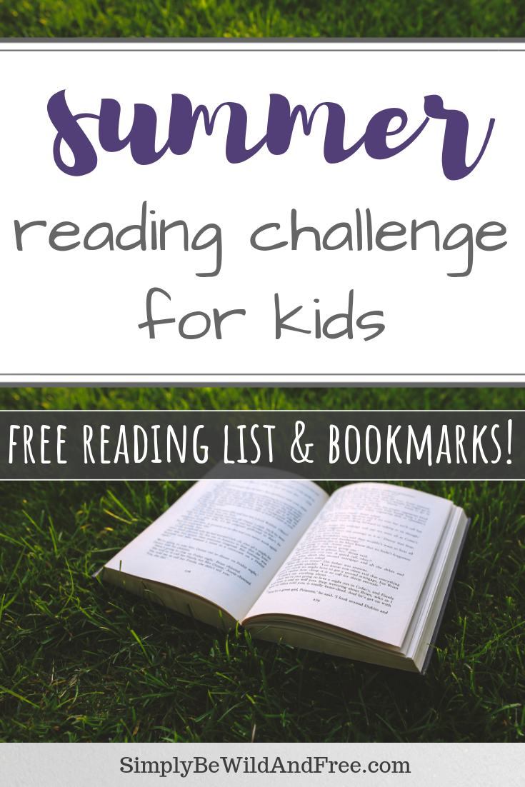 Simple Summer Reading Program! Free printable bundle. Complete with book lists for multiple age ranges, bookmarks to decorate, goal sheets, and a reward! Take charge of upcoming school breaks and encourage reading with these fun activities for your kids! #read #summer #summerreading #books #kids #readinglist #activities #homeschool #learning #usborne #summer #summeractivities