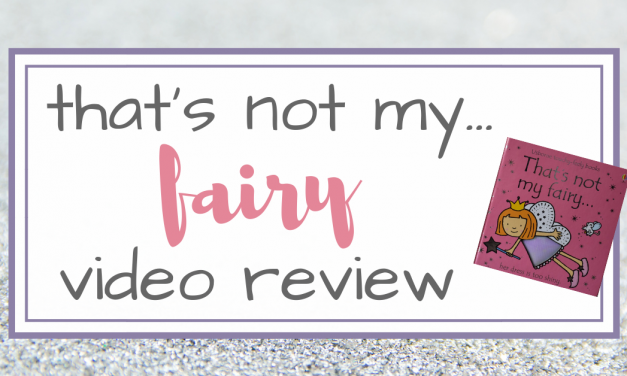 That's Not My Fairy Book Video Review