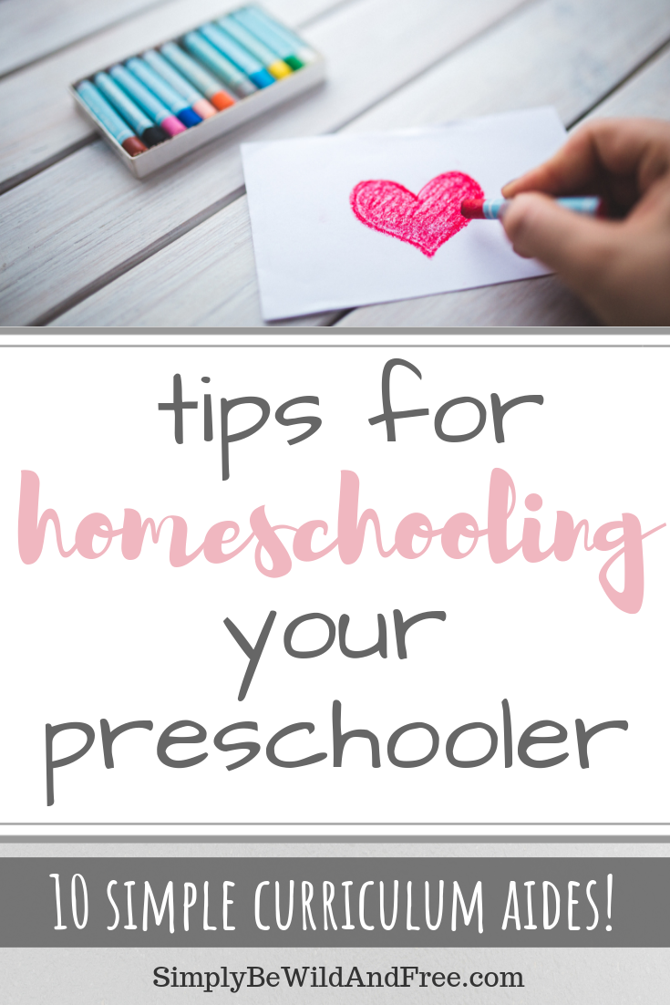 Top 10 Curriculum Aides for Homeschooling Your Preschooler | must have products and solutions! Simple tips for how to homeschool preschool without a curriculum. Learn all about the very best preschool homeschool curriculum aides and how to use them! Find out how to start homeschooling Your Preschooler today with preschool activities, preschool books, preschool curriculum and more! #homeschool #preschool #prek