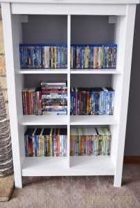 Even when organized DVD and Blu-Ray cases just take up so much space