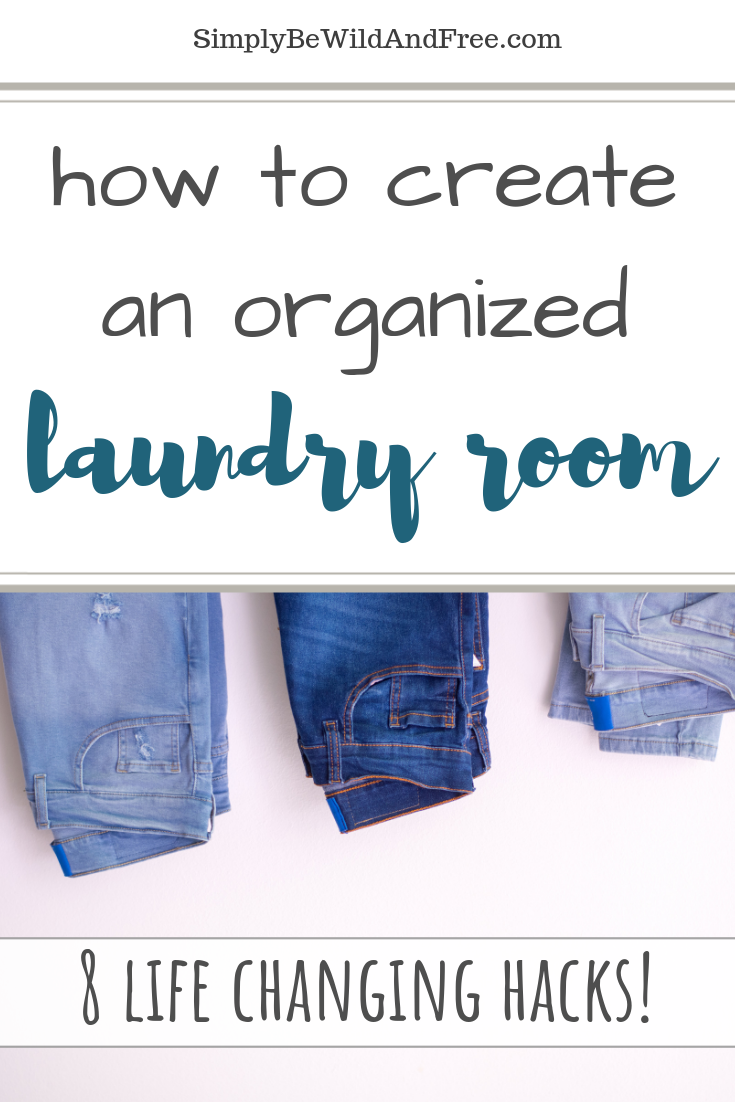 Simple laundry room makeover & DIY must have items! Great tips for creating the laundry room of your dreams. Learn how to have a completely organized laundry room and a functional space to clean your clothes! Simple home decor ideas for your laundry room, collapsible hanging rack and other simple laundry room storage ideas! Simple beautiful laundry room! #laundryroom #homedecor #DIY #organization