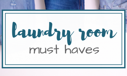 Laundry Room Must Haves