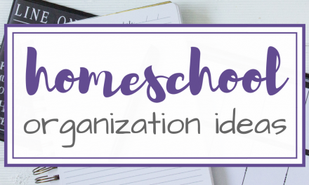 5 Simple Homeschool Organization Ideas