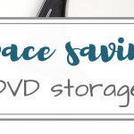 Simple Space Saving DVD Storage
