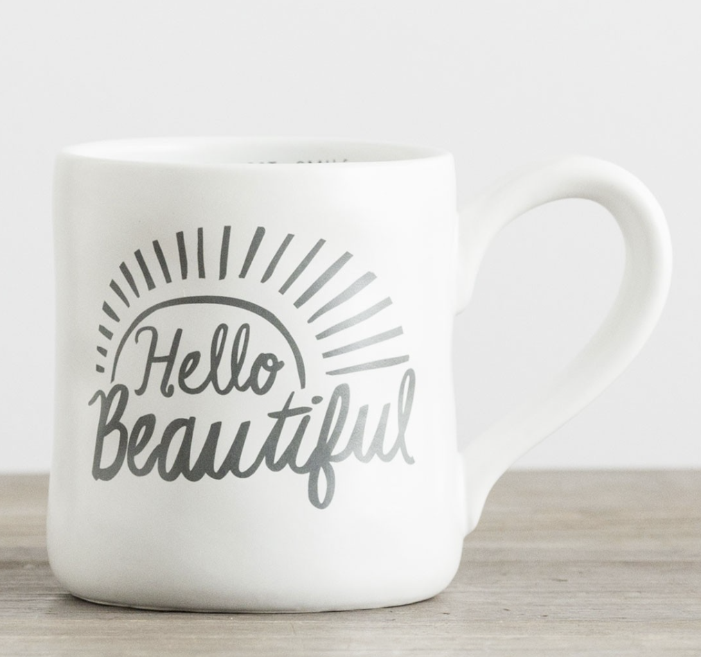 Hello Beautiful Mug - Gifts for Wife on Mother's Day