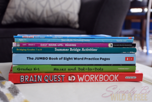 Summer workbooks for kids