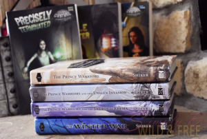 The Prince Warrior Book series