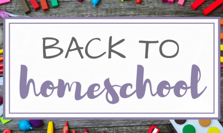 Back to School Activities for Homeschoolers