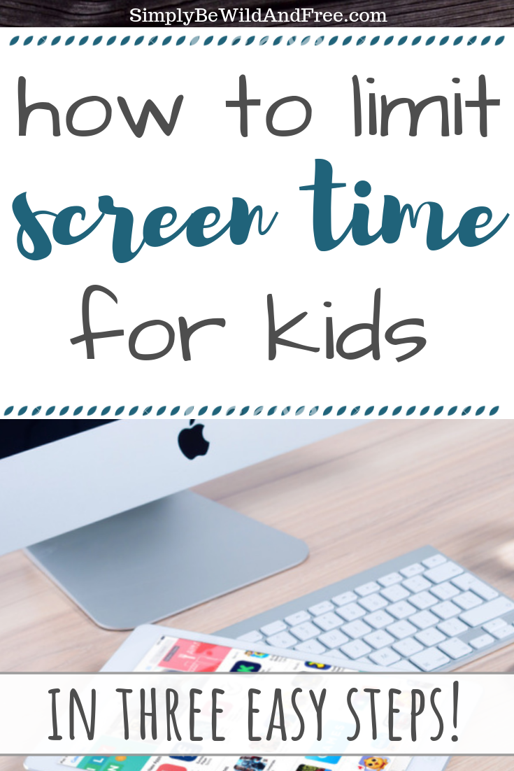 Struggling with an excess amount of screen time in your home? Learn how to cut your child\'s screen time in half with ease! Follow this simple 4 step guide to less screen time! Kid tablet usage. How to limit screen time. How to get kids off electronics. Printable sheet for earning screen time. How much screen time is too much? Why kids need less screen time! All these questions answered and more! Teach your kid how to use less screens today.  #screentime #kids