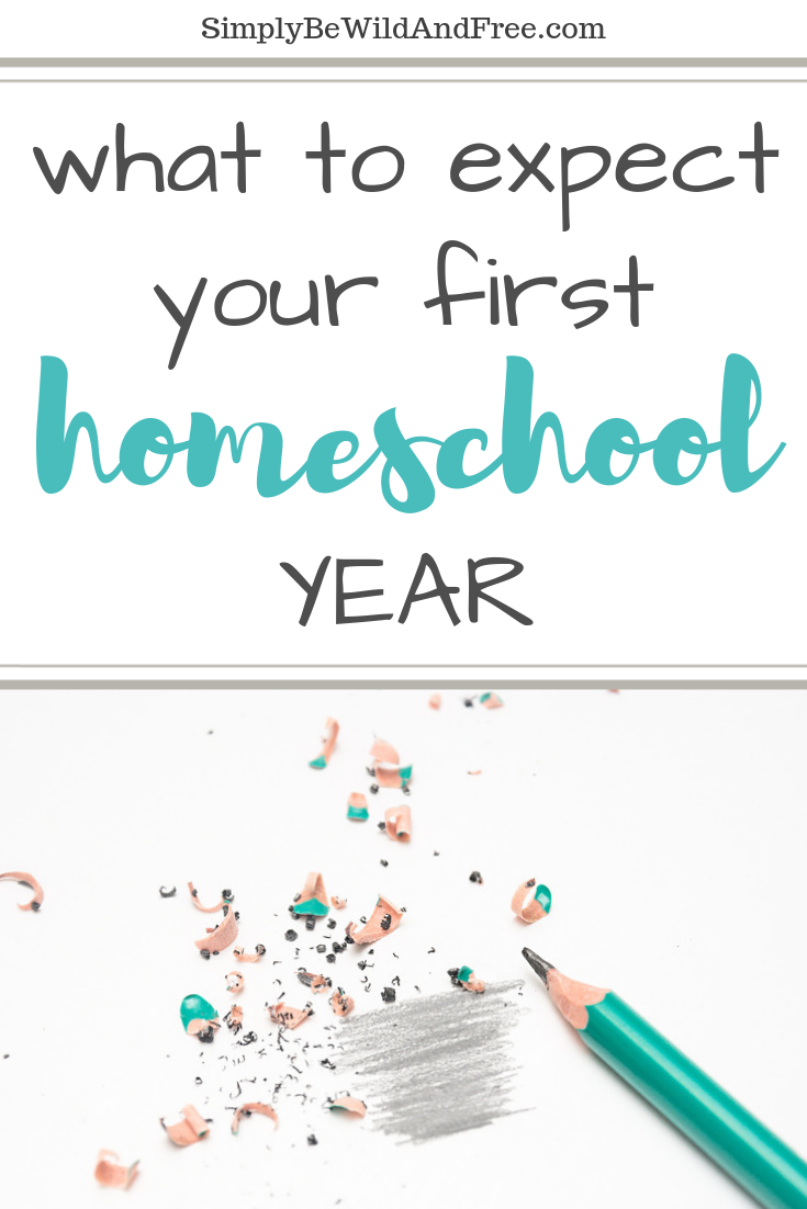 Ready to start homeschooling your children but not sure what to expect? Check out what the first year might be like for you and how you can overcome it with ease. Learn how to homeschool and what the first year of homeschooling might be like. Homeschool for beginners. Simple tips for homeschooling. What to expect the first year of homeschooling. Homeschool helps and ideas. #homeschooling #homeschool #momtips