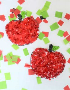 Easy to do Apple Fall Craft