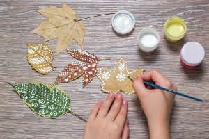 Great fall craft for older kids