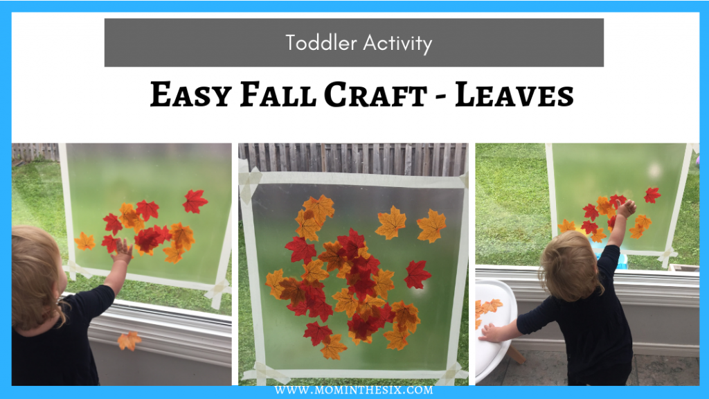 Easy Fall Craft - Leaves