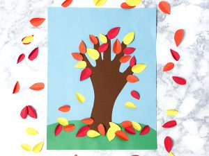 Handprint Fall Craft