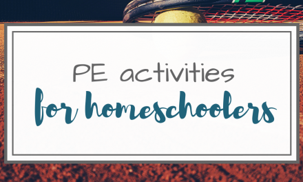 PE Activities for Homeschoolers