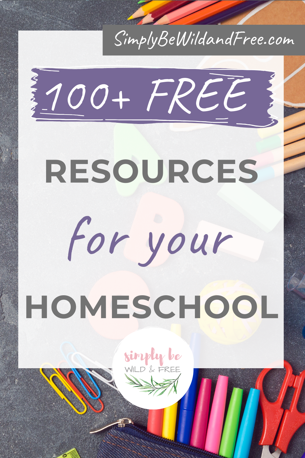 Free Educational Resources for Your Homeschool
