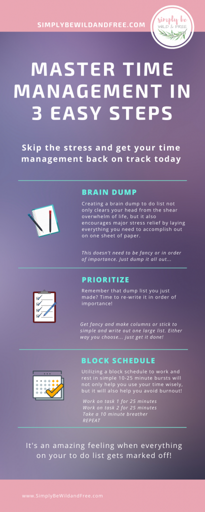 Master Time Management in 3 Easy Steps