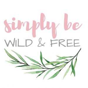 Simply Be Wild and Free Homeschool Blog Logo