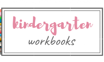 Homeschool Kindergarten Workbooks