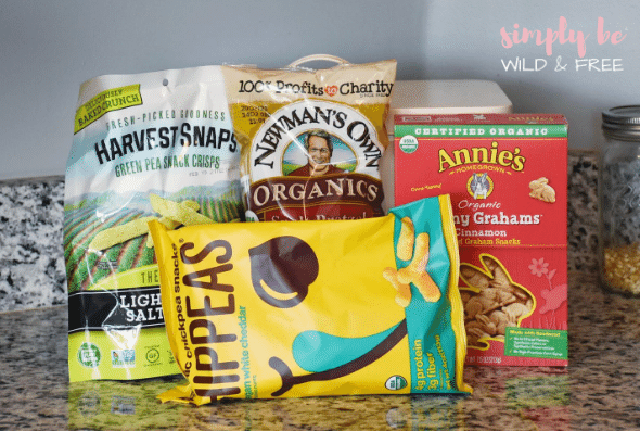 Healthy Snacks for Kids - Perfect for Your Homeschool Snack Station