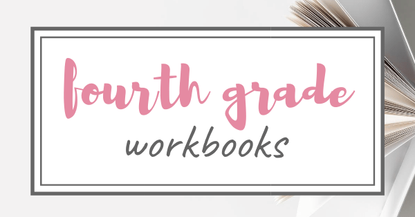 Homeschool Fourth Grade Workbooks