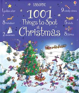 1001 Things to Spot at Christmas Activity Book