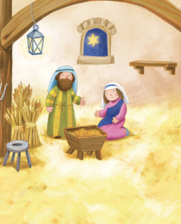 Nativity book for Kids
